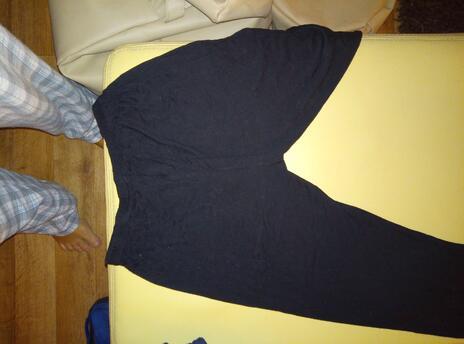 ebfc318d02b Pohodlné harémové kalhoty vyrobené na Bali  viskózové hedvábí a 4 barvy