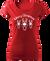 Dámské tričko se soby | Velikost: XS | Červená