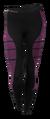 Dámské funkční kalhoty Stark Soul | Velikost: S/M | Fialovo-černé