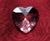 Feng Shui krystal srdce Gabriel