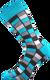 Ponožky - Mozaika modrá | Velikost: 35-38