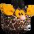 Hrací míč – žirafa