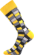 Ponožky - Mozaika žlutá | Velikost: 35-38