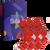 Dárkový set - 3 páry klasických ponožek Vánoce | Velikost: 35-38