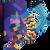 Dárkový set - 3 páry klasických ponožek Barevné | Velikost: 39-42
