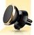 Otočný magnetický držák na mobil do mřížky ventilátoru zlatý