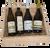 Sommelierská dřevěná bedýnka 4 českých vín na měsíc květen