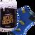Ponožky s motivem piva v dárkové plechovce – typ 1 | Velikost: 39-42