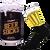 Ponožky s motivem piva v dárkové plechovce – typ 4 | Velikost: 39-42