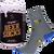 Ponožky s motivem piva v dárkové plechovce – typ 3 | Velikost: 39-42