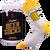 Ponožky s motivem piva v dárkové plechovce – pivo 1 | Velikost: 39-42