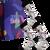 Dárkový set ponožek - Kutil (nářadí), bílá | Velikost: 39-42