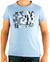 CALVIN KLEIN Tričko cmp57p 6b2 Blue Clear | L