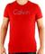 CALVIN KLEIN Tričko cmp93p 547 Rouge | S