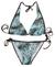 Trojúhelníkové bikiny | L/XL | Smaragd