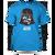 Pánské tričko Darth Vader modré | S | Modrá