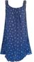 Dámské šaty | Uni | Tmavě modrá
