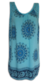 Tunika s květy | Uni | Světle modrá