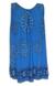 Tunika s květy | Uni | Modrá
