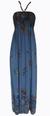 Dámské dlouhé šaty | Uni | Modrá