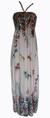 Dámské dlouhé šaty | Uni | Světle růžová