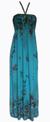 Dámské dlouhé šaty | Uni | Zelená