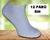 12 párů ponožek | 35-38 | Bílá