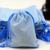Dárkový sáček na šperky | Světle modrá