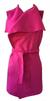 Dámská vesta | Uni | Tmavě růžová