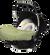 Casualplay autosedačka Baby, 0–13 kg, Grape