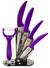 6dílná sada nožů - RL-C4-purple