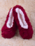 Balerínky - hladké jednobarevné | 35-38 | Červená