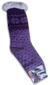 Dámské ovčí ponožky | 35 - 38 | Fialová