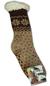 Dámské ovčí ponožky | 35 - 38 | Hnědá