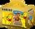 Haribo medvídci - 395 g + žlutý hrneček