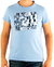 CALVIN KLEIN Tričko cmp57p 6b2 Blue Clear | S