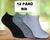 12 párů dámských ponožek | 35-38 | Mix