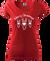 Dámské sobí tričko | XS | Červená
