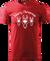 Pánské sobí tričko | XS | Červená