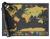 Stírací mapa světa – černá