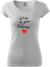 Let me be your Valentine - dámské | Velikost: XS | Bílá