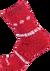 Ponožky SHERPAX MURRAY | Velikost: 35-38 | Červená