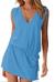 Dámské letní šaty s tkaničkou | Velikost: S/M | Jeans