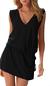Dámské letní šaty s tkaničkou | Velikost: S/M | Černá