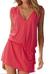 Dámské letní šaty s tkaničkou | Velikost: S/M | Růžová