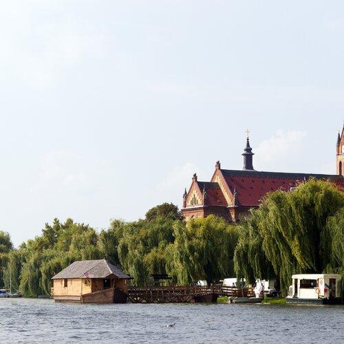 Starý mlýn na lodi v Ráckeve