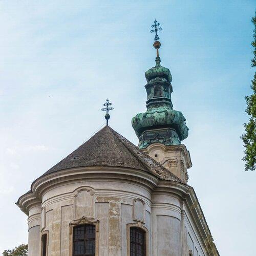 Srbský pravoslavný kostel v Ráckeve