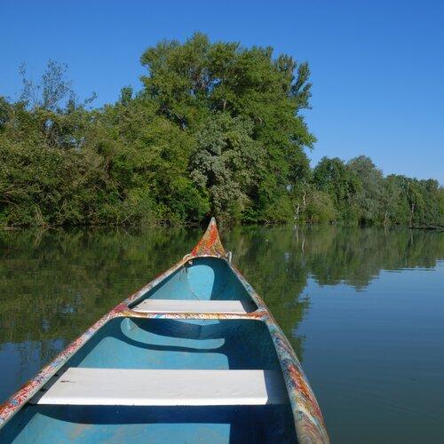 Na vodu po Dunaji (Szigetköz)