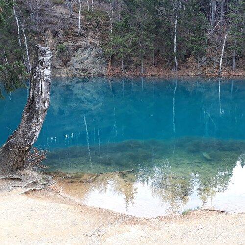 Barevná jezírka (Kolorowe jeziorka)