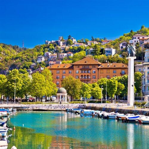 Rijeka - důležitý přístav i moderní metropole